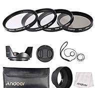 Andoer 49mm комплект фильтра для линз (uv cpl star8 крупный план4)