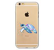 Чехол для iphone 7 плюс 7 крышка прозрачный узор задняя крышка чехол морская черепаха мягкая tpu для iphone 6s плюс 6 плюс 6s 6 se 5s 5c 5