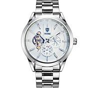 Муж. Модные часы Механические часы Китайский С автоподзаводом Календарь Защита от влаги Светящийся Фосфоресцирующий Нержавеющая сталь