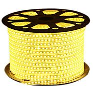 72W Гибкие светодиодные ленты 6950-7150 lm AC220 V 5 м 600 светодиоды Теплый белый белый синий