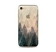 Чехол для iphone 7 плюс 7 крышка прозрачный узор задняя крышка чехол дерево мягкий tpu для яблока iphone 6s плюс 6 плюс 6s 6 se 5s 5c 5 4s
