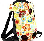 Кошка Собака Переезд и перевозные рюкзаки передняя Рюкзак Животные Корзины Цветы Компактность Милые Радужный