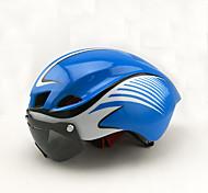 Универсальные Велоспорт шлем 8 Вентиляционные клапаны Велоспорт Горные велосипеды Шоссейные велосипеды Велосипеды для активного отдыха