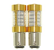 Sencart 2pcs 1157 проблесковая лампочка водить автомобиль хвост поворота лампы заднего фонаря (белый / красный / синий / теплый белый) (dc