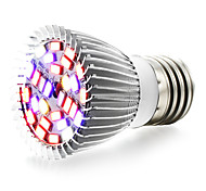 8W E27 LED лампа для теплиц 28 SMD 5730 800 lm Тёплый белый UV (лампа черного света) Красный Синий V 1 шт.
