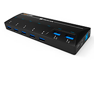 Wavlink usb3.0 концентратор 7-портовый сверхскоростной указатель скорости 80 см кабель с адаптером питания