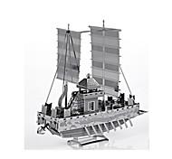 Пазлы Металлические пазлы Строительные блоки Игрушки своими руками Корабль Сплав