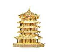 Пазлы Металлические пазлы Строительные блоки Игрушки своими руками Китайская архитектура Сплав