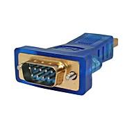 USB 2.0 Адаптер, USB 2.0 to RS232 Адаптер Male - Male