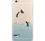 Чехол для iphone 7 6 penguin tpu мягкая ультратонкая задняя крышка чехол для iphone 7 плюс 6 6s плюс se 5s 5 5c 4s 4