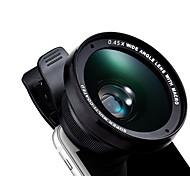Kyotsu телефон объектив широкоугольный объектив макро объектив алюминиевый 15x 52 мм сотовый телефон объектив комплект для samsung