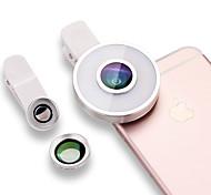 Сенсорный объектив с широкоугольным объективом для объективов с алюминиевой подсветкой для мобильных телефонов с подсветкой для мобильных
