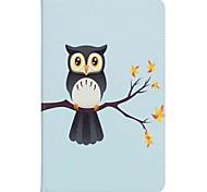 сова шаблон держатель карты кошелек с подставкой флип магнитный кожаный чехол pu для Samsung Galaxy Tab 10,1 t580n t585n 10,1-дюймовый