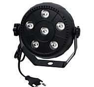 ywxlight® 3w eu plug high power 18w led par light большой эффект для эффекта крашения концерта с контролем звука для ktv bar ac 100-240v