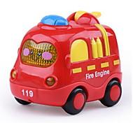 Пожарная машина Экипаж Игрушки на солнечных батареях Пластик