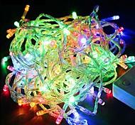 рождественские огни 30m / 200leds шнура СИД 220v для праздника / партии / свадьба / новый год украшения дома бесплатная доставка ес
