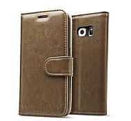 роскошный подлинный крышка случая карточки бумажник кожаный флип для Samsung Galaxy s7 / s7 край