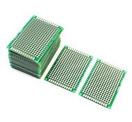 10шт двухсторонний протопобор прототипирования платы для ПК 4 см х 6 см