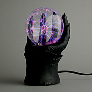 Plasma Ball in an Evil Hand (220V AC)