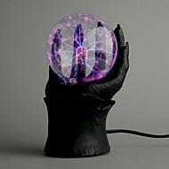 Plasma Ball em uma mão mal (220V AC)