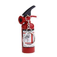 미니 소화기 모양 열쇠고리 기능이 있는 가스 라이터
