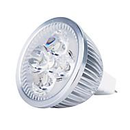 4W GU5.3(MR16) LED 스팟 조명 MR16 4 고성능 LED 360 lm 따뜻한 화이트 DC 12 V