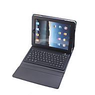 Protective PU Leather Case with Built-in Bluetooth Wireless Keyboard for iPad 2