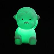 niedlichen Affen geformten bunten LED Nachtlicht (3xlr44)