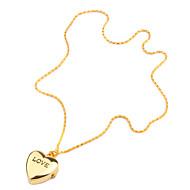 Γυναικεία Μοδάτο Ρολόι Χαλαζίας Μπάντα Heart Shape Χρυσό Χρυσαφί