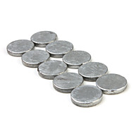 Super-Strong Rare-Earth RE Magnets (9mm x 1.2mm 10-Pack)