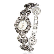 Aphrodite - Silver Sunflower Women Bracelet Watch
