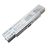 Μπαταρία για Sony Vaio VGN-AR VGN-CR VGN-nr VGP-BPS10 VGP-BPS9 VGP-bps9a / B VGP-BPS9 / B VGP-bps9 / s ασημί