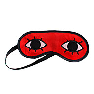 Maske Inspireret af Gintama Okita Sougo Anime Cosplay Tilbehør Maske Rød Terylene Mand