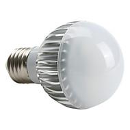 E27 4W 360-400LM 6000-6500K естественный белый свет привел шар лампы (220)