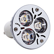 GU10 3 W 3 High Power LED 300 LM Warm White MR16 Spot Lights AC 85-265 V