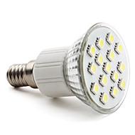 3W E14 / GU10 / E26/E27 LED 스팟 조명 MR16 15 SMD 5050 200 lm 따뜻한 화이트 / 내추럴 화이트 AC 220-240 V