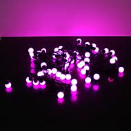 5M 180-LED Purple Light 8 Sparking Modes String Lamp for Festival Decoration (220V)