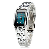 Women's Business Alloy Analog Quartz Wrist Watch (Silver)