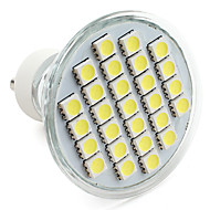 GU10 27-5050 SMD 4W 300LM 6000-6500K Natural White Light LED Spot Bulb (220-240V)