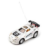 40MHz radiofonico auto da corsa di controllo (bianco)
