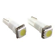 T5 1*5050 SMD White LED Car Signal Light