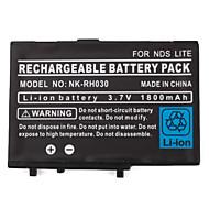 bateria recarregável com chave de fenda para Nintendo DS, DS Lite, DSi (3.7V, 1800mAh)