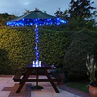 Solar 100-LED Blue Light Outdoor Fairy Lights Christmas Decoration Lamps