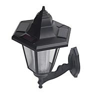 retrò energia solare parete a luce bianca montata lampada