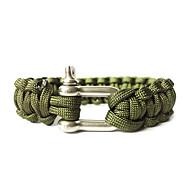 Steel Button Life-saving Bracelet