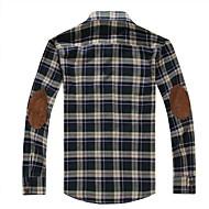 Check Slim Cotton Shirt