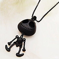 Women's Skull Bib Necklace