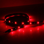 Waterproof 120cm 48-LED Red LED Strip Light (12V)