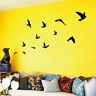 Wandstickers 'vliegende vogels'