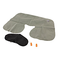 Travel Travel Sleeping Mask / Travel Pillow / Travel Ear Plugs / Camping Pillow Portable / Foldable Travel Rest Grey